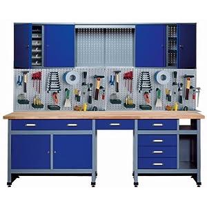 Küpper 70412-7 – Set para taller, 240cm, fabricado en Alemania, color: azul oscuro (Blu oltremare)