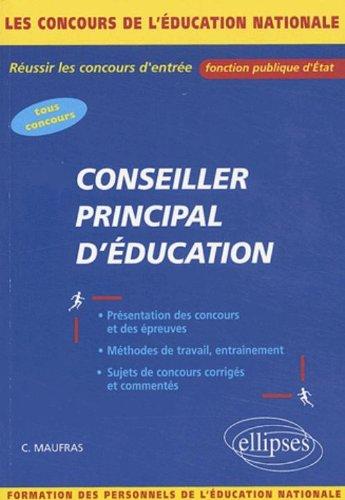 Le concours de Conseiller Principal d'Éducation (CPE)