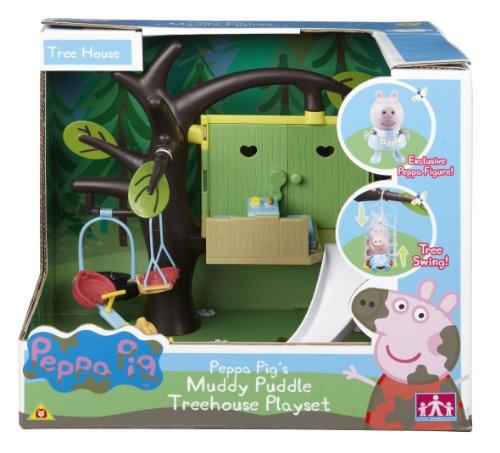 Character options - la casa sull'albero di peppa pig, set da gioco