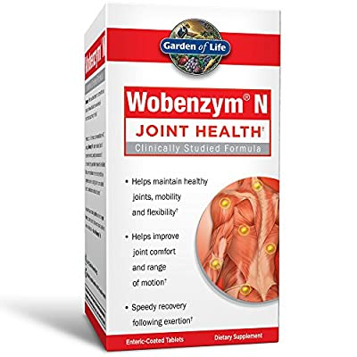 Wobenzym N Joint Support Tablets by Garden of Life