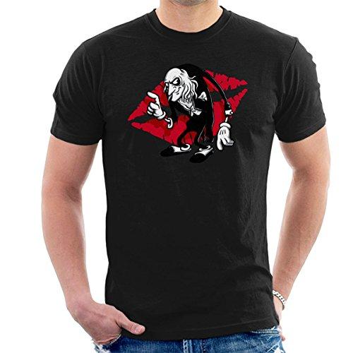 Rocky Horror Picture Show Riff Raff Men's T-Shirt (Magenta Aus Horror Rocky Der)