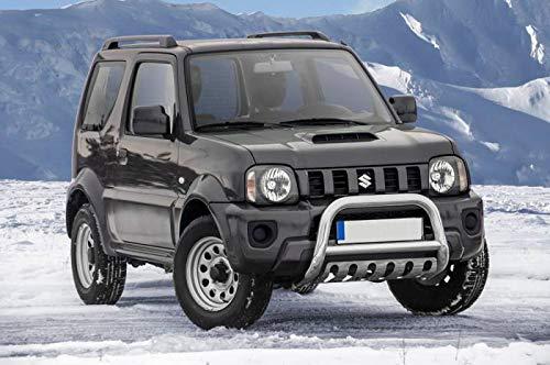 Frontschutzbügel mit Unterfahrschutz für Suzuki Jimny Baujahr 2012-2018