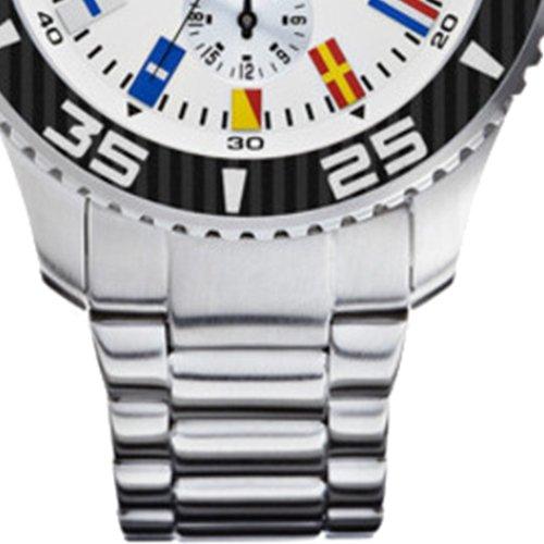Nautica-Mens-Quartz-Watch-with-Black-Dial-Analogue-Display-Quartz-Stainless-Steel-A14630G