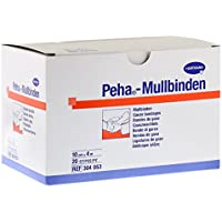 Hartmann Peha Mullbinden Fixierbinde 20 Stück (10 cm x 4 m) preisvergleich bei billige-tabletten.eu