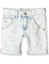 NAME IT - Pantalón corto - para niño Azul azul (Light azul Denim) 11 años