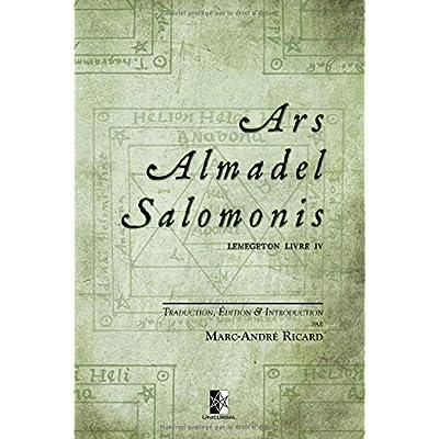 Ars Almadel Salomonis: Lemegeton Livre IV