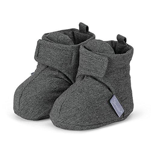 Sterntaler Schuh, Chaussons pour enfant mixte bébé - Gris - Grau (Asphalt 574), 16