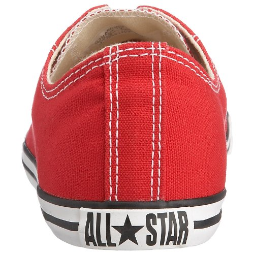 Converse Chuck Taylor All Star Core Slim Canvas Ox, Unisex Sneaker Rot (Varsity Red)