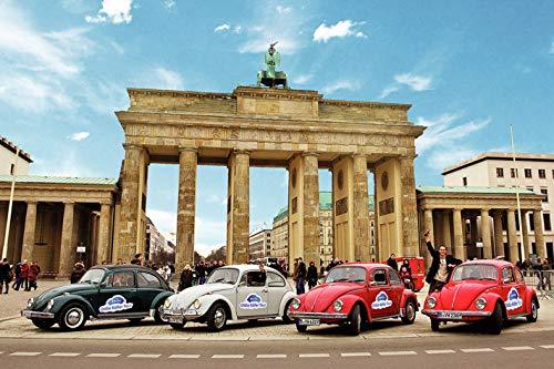 Jochen Schweizer Geschenkgutschein: VW Käfer Fahren in Berlin für bis zu 4 Personen