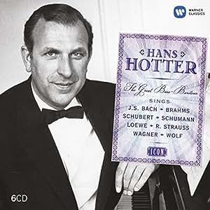Icon : Hans Hotter (Coffret 6 CD)