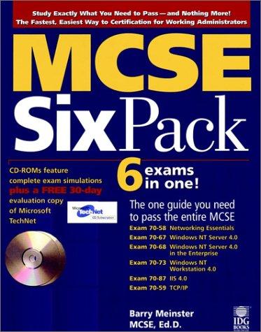 MCSE Six Pack por Barry Meinster