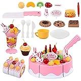 heshengj Vale la pena Que DIY Finja Que es Fruta,Tarta de cumpleaños,Cocina,Juguetes,Chistes,diseño.(None 75 Sets)