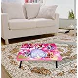 """Vendi Pie Multipurpose Study Table Foldable/ Study Table For Students For Education / Kids Activity Table / /Wooden Laptop Study Table/ Bed Study Table For Kids/ Birthday Gifts For Kids Boys With An ELEGANT CARTOON PRINT (Multicolor - 24"""" X 16"""")"""