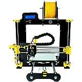IMPRESORA LEGIO 3D EN KIT CON CALIDAD PROFESIONAL + 1KG DE FILAMENTO PLA BLANCO 1.75mm + 1 3DLAC SPRAY DE FIJACIÓN