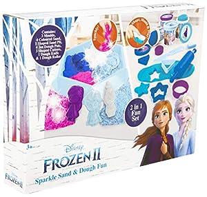 Sambro Frozen 2 Sparkle Arena y Masa Divertida, Multicolor
