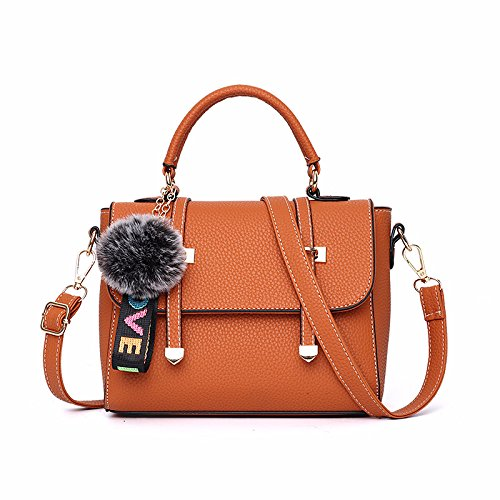 GUANGMING77 _ Borsetta Crossbody Bag Borsetta,Singolo Nero Con Spallamento Close the side shoulder Naturals