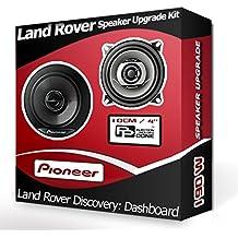 Pioneer Set de altavoces para salpicadero, Land Rover Discovery 4/10cm, 190W)