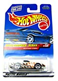 Mega Graphics Series #3 Mustang Cobra Razor Wheels Malaysia 1:64 Scale Collectible Die Cast Car Model #974 by Hot Wheels