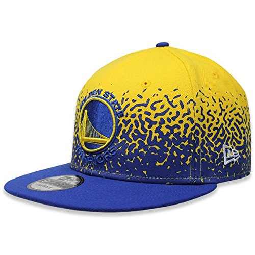 New Era Herren Snapback 9FIFTY Speckle Rise Golden State Warriors NBA Cap, Gold