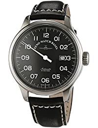 Zeno Watch Basel Men's Automatic Watch Oversized 8554UNO-pol-a1 with Leather Strap
