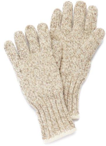 FoxRiver Wollhandschuh Ragg, Braun, L, 090402 (Wool Fox Socks)