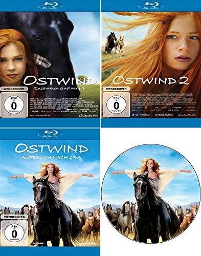 Ostwind 1-3 im Set - Deutsche Originalware [3 Blu-rays]