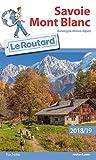 Guide du Routard Savoie Mont Blanc 2018/19