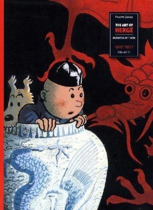 The Art of Herge, Inventor of Tintin: Volume 1