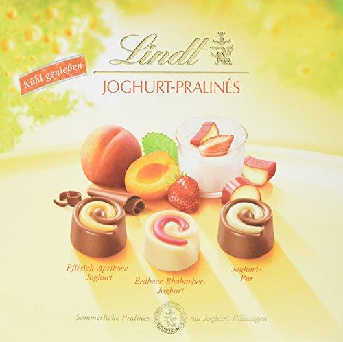 Preisvergleich Produktbild Lindt & Sprüngli Joghurt Pralines,  1er Pack (1 x 145 g)