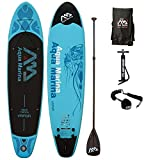 AQUA MARINA, VAPOR+CARBON-Paddle+LEASH, Paddle Board, SUP, 330x75x10 cm