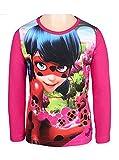 MIRACULOUS LADYBUG - Camiseta de manga larga - para niña Rosa rosa 5 años