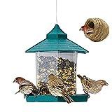 SSDM Bird Feeder Outdoor Garten Fütterung Taube Papagei Vogel Korn Hänge Feeder Perfekt Für Garten Dekoration und Vogel (22 * 20 cm)