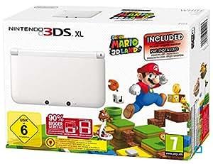 Console Nintendo 3DS XL blanche + Super Mario 3D Land (préinstallé)