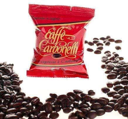 Caffè Carbonelli Miscela Forte - Confezione da 100 Capsule - Compatibile Lavazza Espresso Point®