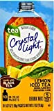 Crystal Light On the Go, Iced Tea with Lemon Flavor, 10 Count Boxes (Pack of 10)