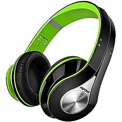 Auriculares Bluetooth Inalámbricos, Mpow 059, Cascos Bluetooth Plegable con Micrófono Manos Libres Headphone Ligero y Hi-Fi Sonido Estéreo, 20 Horas de Reproducción para TV, PC, Móviles Android o IOS