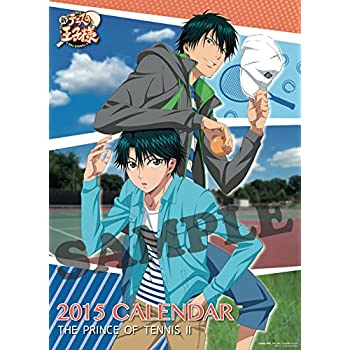 Japanese Anime Calendar 2015 New The Prince of Tennis #K021S