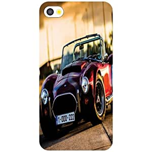Apple iPhone 4S Magnificent Car Matte Finish Phone Cover