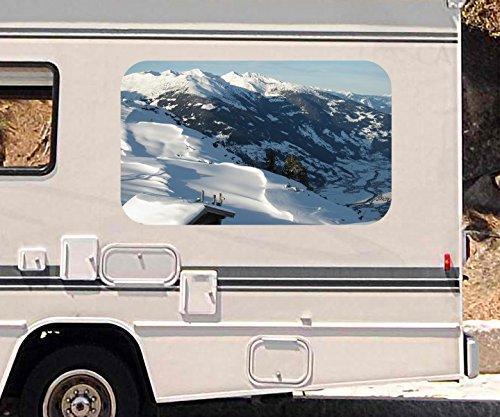3d-autoaufkleber-landschaft-berg-alpen-schnee-ski-wohnmobil-auto-kfz-fenster-motorhaube-sticker-aufk