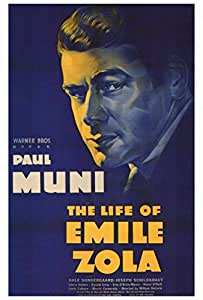 The Life of Emile Zola Movie Poster (68,58 x 101,60 cm)
