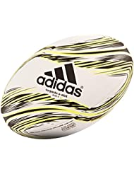 adidas Torpedo X-Ebit Balón de Rugby, Hombre, Blanco / Amarillo / Negro, 5