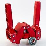 Ferrari Group, Emily - Cierra Botellas de Palanca para chapas DE 26 y 29 mm - Rojo