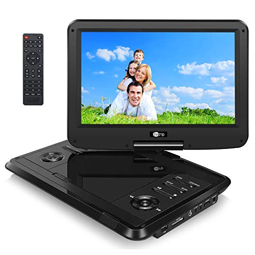 510GnA20zUL. SS500  - Cutrip 11.6 Inch IPS Screen Portable DVD Player for Kids with 4000MAh Rechargeable Battery Support 1080P Video Region Free AV In/Out USB/SD/MMC Playback