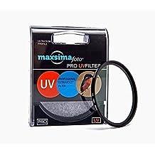 Maxsimafoto - 72mm filtro protector UV Pro para Nikon 58 mm f1.4 G AF-S y Nikon 16-80mm f / 2.8-4E ED VR lente.