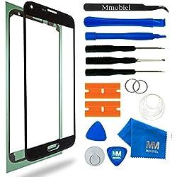 MMOBIEL Écran tactile compatible avec Samsung Galaxy S5 G900/ S5 Neo G903M (Noir) incl Kit d'Outils inclus