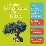 Plus beaux textes de la bible (les)