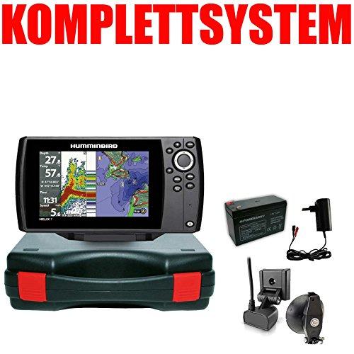Humminbird Echolot GPS Plotter Portabel Basic Komplett - Helix 7 Chirp GPS G3