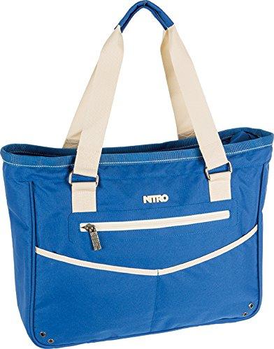 Nitro Damen Handtasche Carry All Bag Blue Khaki, 16 L -