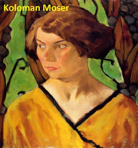195 Color Paintings of Koloman Moser - Austrian Art Nouveau Painter (March 30, 1868 - October 18, 1918) (English Edition) Moser-art