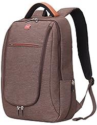 Soarpop 14 pulgadas Ultraligero Notebook Backpack, resistente al agua y anti-abrasiva de negocios Mochila, Mochila multipropósito